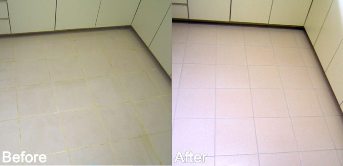 Tile and grout maintenance